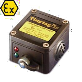 Digitalni registrator za merjenje temperature in vlažnosti v nevarnem okolju